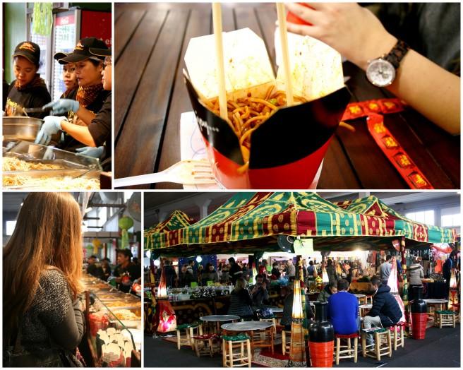 Nie obyło się bez spróbowania prawdziwego tajskiego fast fooda ,,molto spicy