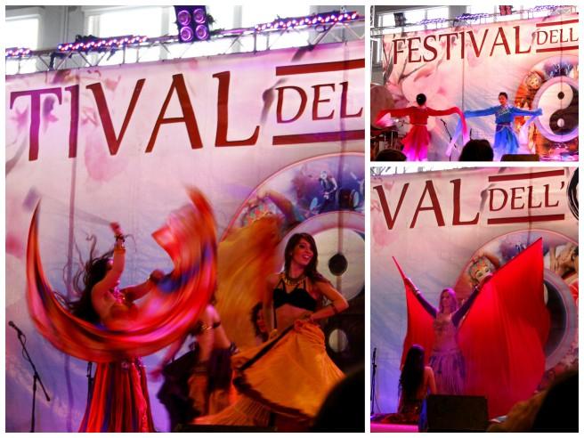 Chińskie tańce narodowe, zespół taneczny z Malezji i taniec brzucha prosto z Indii to występy na które się załapałyśmy. Muzyka przypominała nieco tą bollywoodzką, przyjemną dla ucha, a tancerki zdecydowanie rozgrzały publiczność.